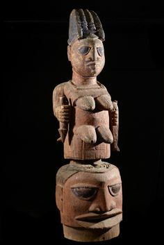 Epa Maternite Mask - Yoruba - Benin - Gabriel Massa CollectionFosterginger.Pinterest.ComMore Pins Like This One At FOSTERGINGER @ PINTEREST No Pin Limitsでこのようなピンがいっぱいになるピンの限界