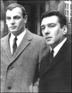 Reg and scotch Ian Barrie The Firm The Krays, East End London, Identical Twins, Twin Brothers, Mafia, Crime, Two By Two, Nostalgia, Vintage