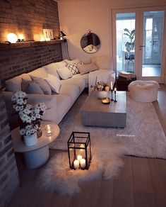 Small Living Rooms, Living Room Designs, Modern Living, Living Spaces, Living Room Furniture, Living Room Decor, Decor Room, Bedroom Decor, Wall Decor