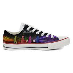 Converse Custom Slim personalisierte Schuhe (Handwerk Produkt) Flowery Paisley