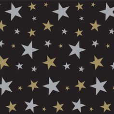 Black, Silver and Gold Star Back Drop – 4 feet by 30 feet @ Party City / World.