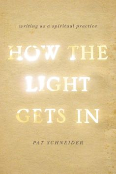 How the Light Gets In - Pat Schneider