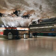 helsinki 13 Metro Stations That Are Works Of Art