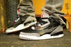 """Air Jordan 3 """"Black/Cement"""""""