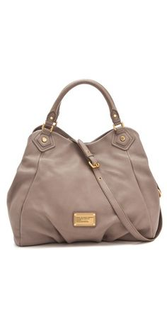 Marc by Marc Jacobs Classic Q Francesca Tote -- I have this bag in black, wouldn't mind it in the Mink as well! Love!