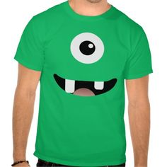Funny Cyclops One-Eyed Monster Halloween Costume Tshirt