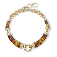 Love this Tortoise Collar Necklace