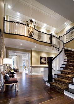 Jane Lockhart Kylemore Custom Home - traditional - entry - toronto - Jane Lockhart Interior Design
