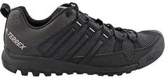 Adidas Outdoor Terrex Solo Approach Shoe - Men's Dark Grey/Black/Ch Solid Grey 9