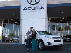 Cindy's new 2012 CHEVROLET EQUINOX! Congratulations and best wishes from Findlay Acura and ZAC BARNES.  http://www.findlayacura.com http://acuralasvegas.com