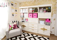 Classy Clutter Craft Studio Makeover