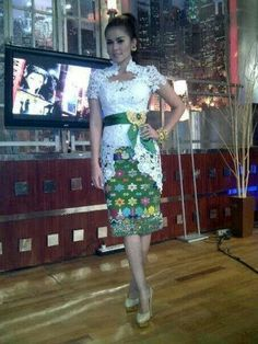 Lovely kebaya- cute dress like