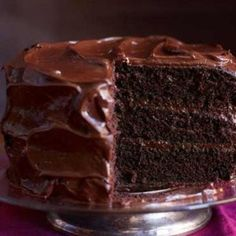 Best Chocolate Layer Cake You'll Ever Make.