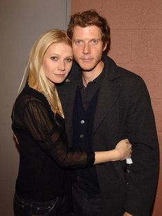 Gwyneth with brother Jake - producer
