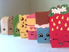 Shopkins Printables for Gift Sacks (Instant Download) by ClearlyCandace on Etsy