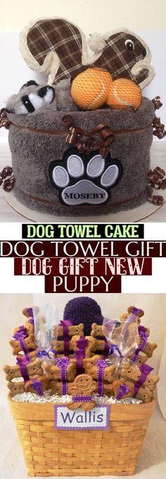 Dog Towel Cake Dog Towel Gift Dog Gift New Puppy Gift  Dog Towel Cake Dog Towel Gift Dog Gift New Puppy Puppy Gifts, Dog Gifts, New Puppy, Towel, Teddy Bear, Puppies, Cake, Dogs, Animals