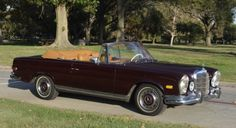 This 1969 Mercedes-Benz 280SE Convertible chassis 111.025-12-002139 is an excellent original example. Dark red with original bamboo leather interior. This car was meticulously maintained and includes a binder full of service records to show for it.A great buy at just $119,500  #gullwingmotorcars #classiccars #buy&sellclassiccars #VintageCarBuyer #ClassicCar  #antiqueCarBuyer #1969Mercedes-Benz280SEConvertible #Mercedes-Benz #280SEConvertible