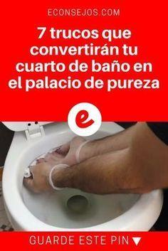 Trucos de limpieza en español | 7 trucos que convertirán tu cuarto de baño en el palacio de pureza | ¡Sin falta, toma nota de estos trucos!