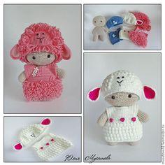 Купить Пупс йойо вязаный в костюме овечки - пупс, вязаный пупс, Пупсик, пупсик и…