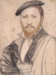 Portrait of an Unidentified Man by Hans Holbein the Younger on Curiator, the world's biggest collaborative art collection. Acrylic Portrait Painting, Portrait Art, Painting & Drawing, Renaissance Portraits, Renaissance Paintings, Tudor History, Art History, Trois Crayons, Hans Holbein The Younger