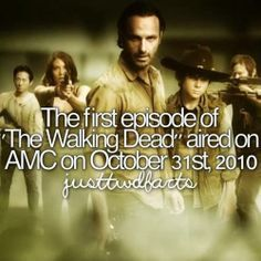 The First Season of The Walking Dead an American horrordrama television series on AMC premiered on October 31 2010 and concluded on December 5 2010 consisting of six episodes. Walking Dead Facts, Walking Dead Quotes, Walking Dead Show, Fear The Walking, Rick And Michonne, Rick Grimes, Twd Comics, The Walking Dead Merchandise, Talking To The Dead