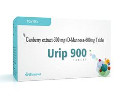 URIP-900 tablet is a combination of non-pharmaceutical ingredient and a simple sugar used for treatment & prevention of UTIs & reduce symptomatic cystitis. http://www.bionova.co.in/urip-900-tablet.html
