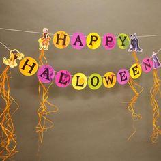 DIY Halloween Crafts : DIY Disney Villains Halloween Banner