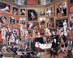 The Tribuna of the Uffizi Johan Joseph Zoffany (German, Oil on canvas. The Tribuna was Europe's most precious profusion of painting, sculpture, pietra. Google Art Project, Galerie Des Offices, Thomas Gainsborough, Jan Van Eyck, Art Ancien, The Royal Collection, London Museums, Famous Art, Oil Painting Reproductions