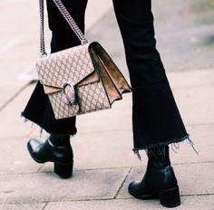 Gucci dionysus | black flared jeans | autumn fashion | streetstyle | winter fashion | fall style | fashion inspo