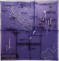 Nocturne by Jessica Rankin. I love her work, embroidery...this is my fav piece, based on our random dream thoughts.