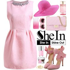 Sheinside 6 by oshint on Polyvore featuring polyvore, fashion, style, Design Inverso, J.Crew, Christian Dior, Prada, Gorjana, Sheinside and shein