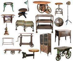 Steampunk Industrial Furniture