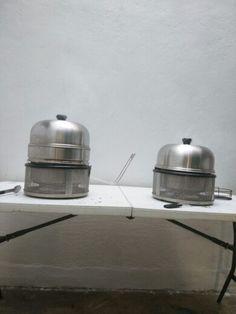 Cobb premier and Cobb Premier with dome extension (left)