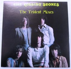 THE ROLLING STONES The Trident Mixes 2LP MINT TOP COPY K&S GREAT SOUND BLACK WAX | eBay