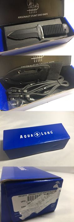 Knives 29577: Aqua Lung Argonautstunt Blunt Knife Spartan Black Ss New Open Box -> BUY IT NOW ONLY: $89 on eBay!