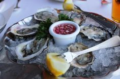 Oysters at Anthony's Pier 4 in Boston!