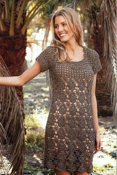 crochet summer dress for women | make handmade, crochet, craft