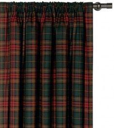 Reynolds Brandy Cotton Rod Pocket Curtain Panel