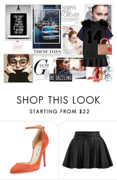 """""""be different"""" by gglamgirl ❤ liked on Polyvore featuring Jimmy Choo"""