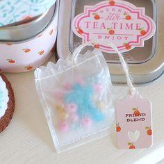 Teabag craft for the kids