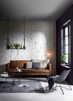 Tendance industrielle - Sofa à trois places | Industrial design - 3 Seater Sofa