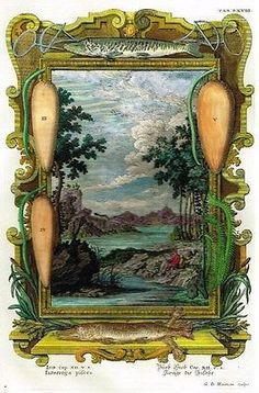 """Scheuchzer's """"PHYSICA SACRA"""" H/Col Eng. -1731- FISHES OF THE SEA DECLARE"""
