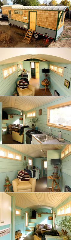 Ken Leigh, a MitchCraft Tiny Homes employee, is selling his own 32' fifth wheel tiny house! Built in Maine and now in Fort Collins, Colorado.