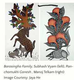 Gond Painting, Rooster, Moose Art, Animals, Animales, Animaux, Animal, Animais, Chicken