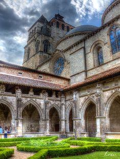 Cathédrale Saint-Etienne à cahors dans le Lot