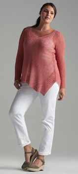 """I inexplicably kind of like this sweater. """"Shop Women's Plus Size Clothing at EILEEN FISHER"""""""