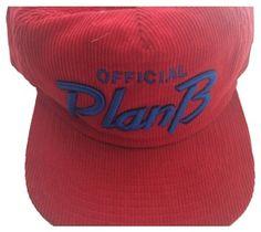 Plan B SKATE RED CORDUROY SNAPBACK HAT #9802561 - Hats - Tradesy #skate #planb #skateboard #mensfashion
