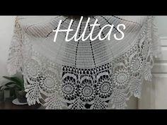 Dantelli şal nasıl örülür (1.video)/ el örgüsü şal modelleri /kolay şal modelleri - YouTube Crochet Scarves, Crochet Shawl, Crochet Capas, Border Embroidery Designs, Cape Jacket, Crochet Videos, Chrochet, Crochet Flowers, Projects To Try