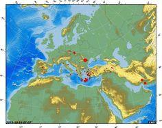 Islas de la Madera  y Azores | de magnitud 5,9 ha sido registrado en las islas Azores (Portugal ...