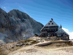Triglav home on Kredarica (2515 meters) is the highest Slovenian mountain hut and the highest Slovenian Meteorological Station.#TriglavNationalPark #Triglav #JulianAlps #TriglavPark #ParkTriglav #LjubljanaToTriglav #ThingsToDo #BeautifulDestinations #Slovenia